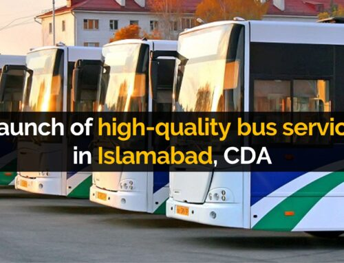 Launch of high quality bus service in Islamabad, CDA