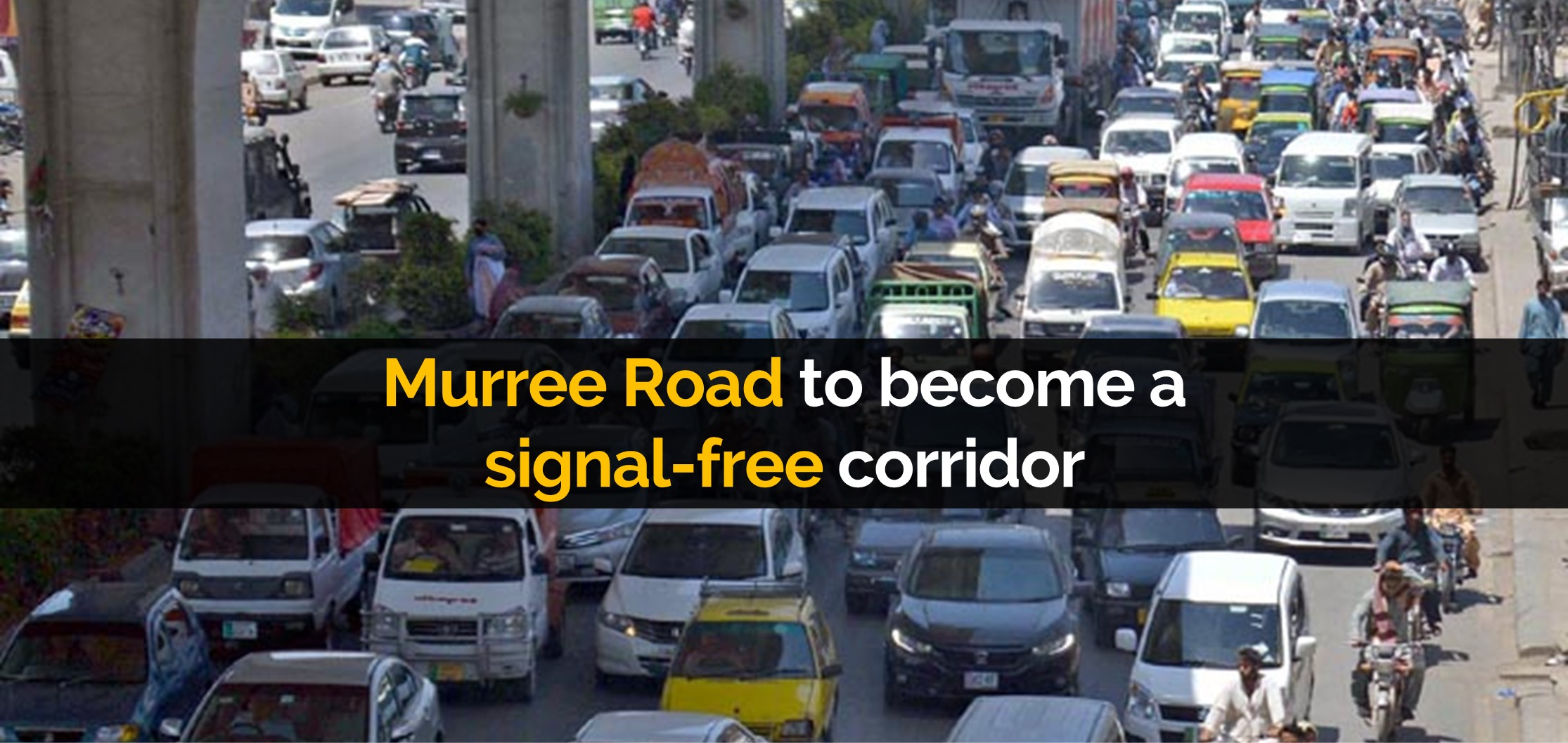 Murree Road to become a signal-free corridor