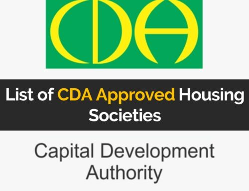 List of CDA Approved Housing Societies