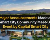 Major Announcements Made at Smart City Community Meet-Up Event by Capital Smart City