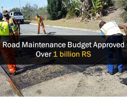 Road Maintenance Budget Approved Over Rs1 billion